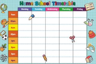 Home School Timetable(4)